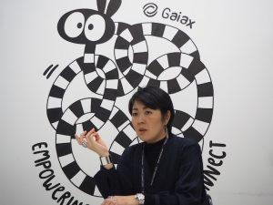 株式会社ガイアックス 野口佳絵氏