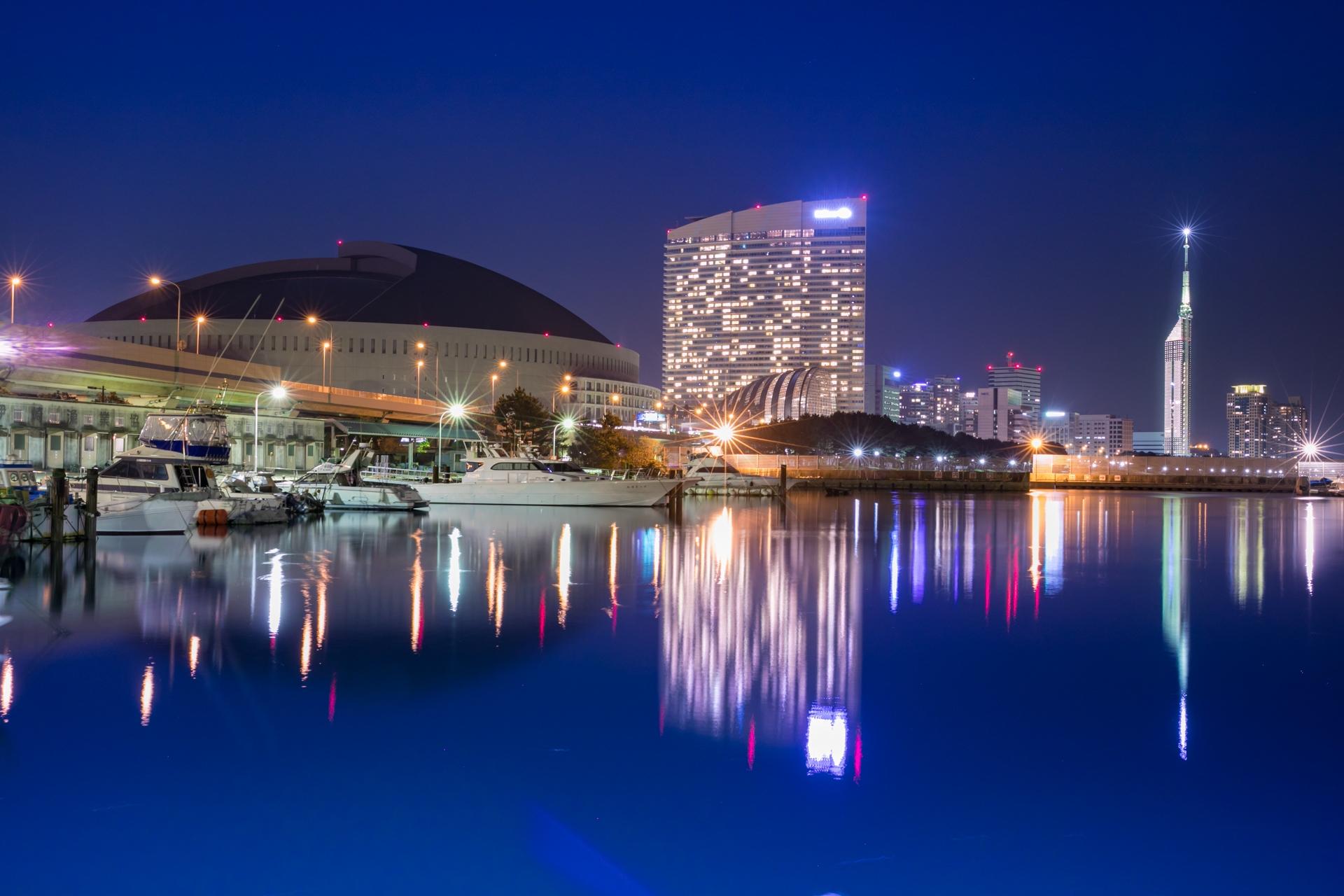 福岡の夜景